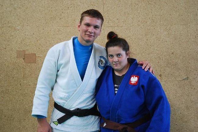 Radosław Miśkiewicz i Natalia Brzykcy (źródłó Polski Związek Sportu Niesłyszących)