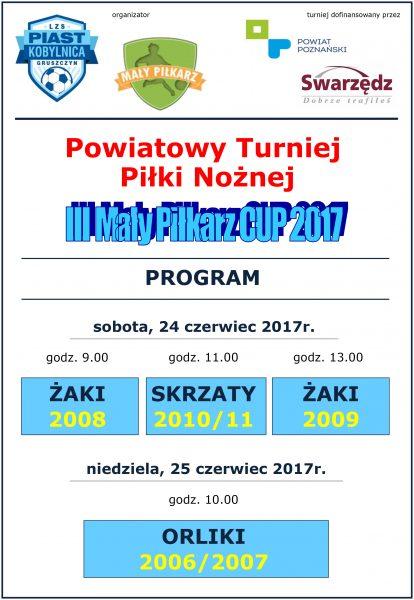 plakat turniej 3MP CUP 2017-2