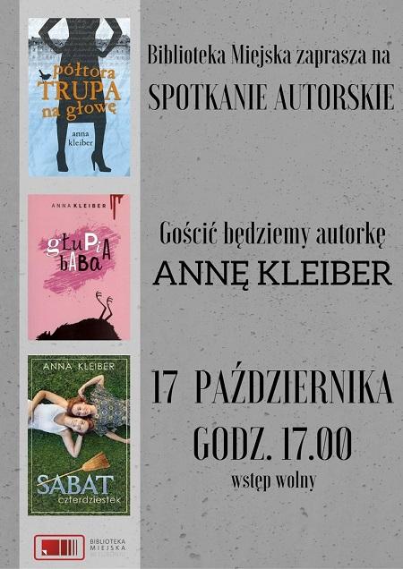 Spotkanie z Anną Kleiber