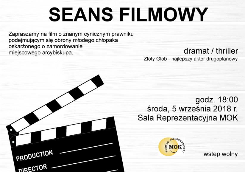 Seans filmowy w Mosinie