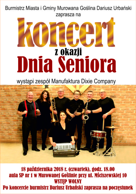 Koncert z okazji Dnia Seniora