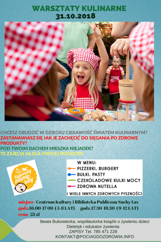 Warsztaty kulinarne dla dzieci