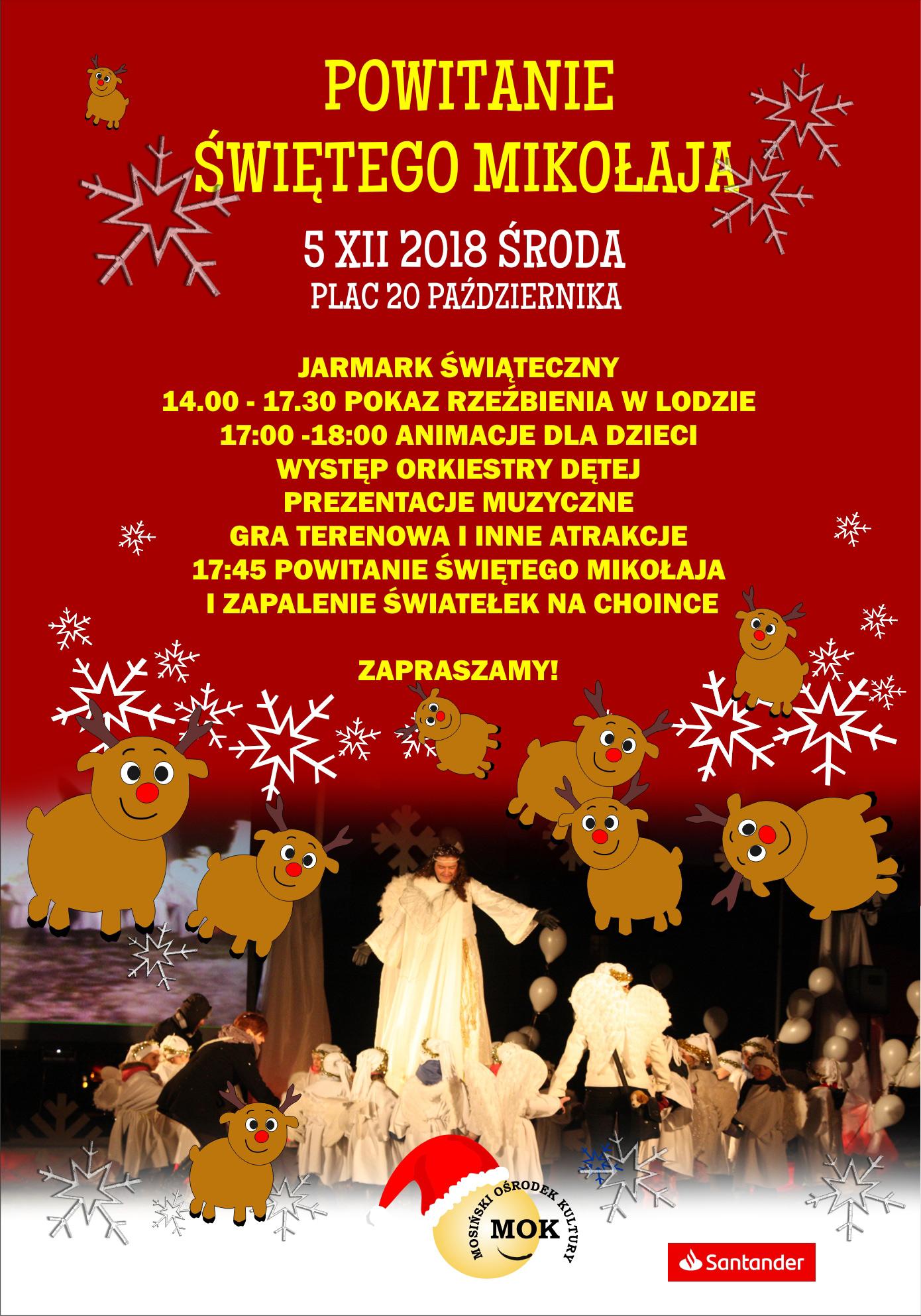 Jarmark świąteczny w Mosinie