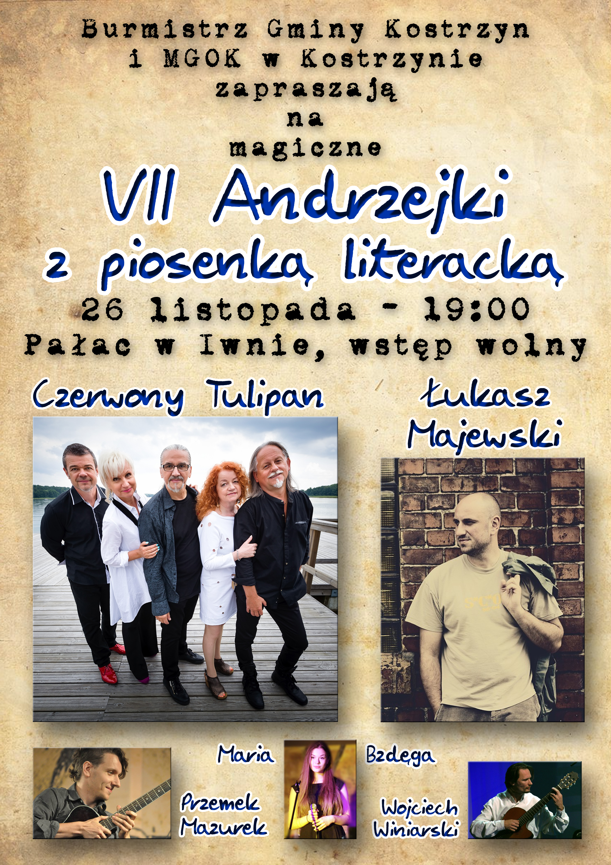 Andrzejki z piosenką