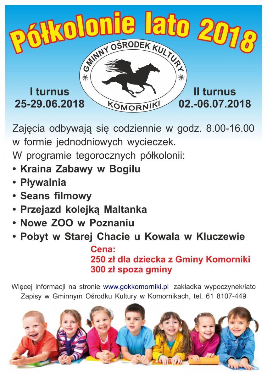 Półkolonie GOK Komorniki