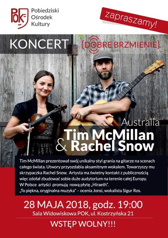 Tim McMillan & Rachel Snow