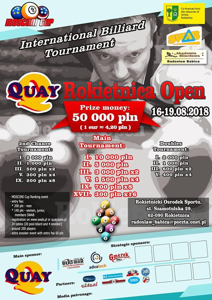 Quay Rokietnica Open
