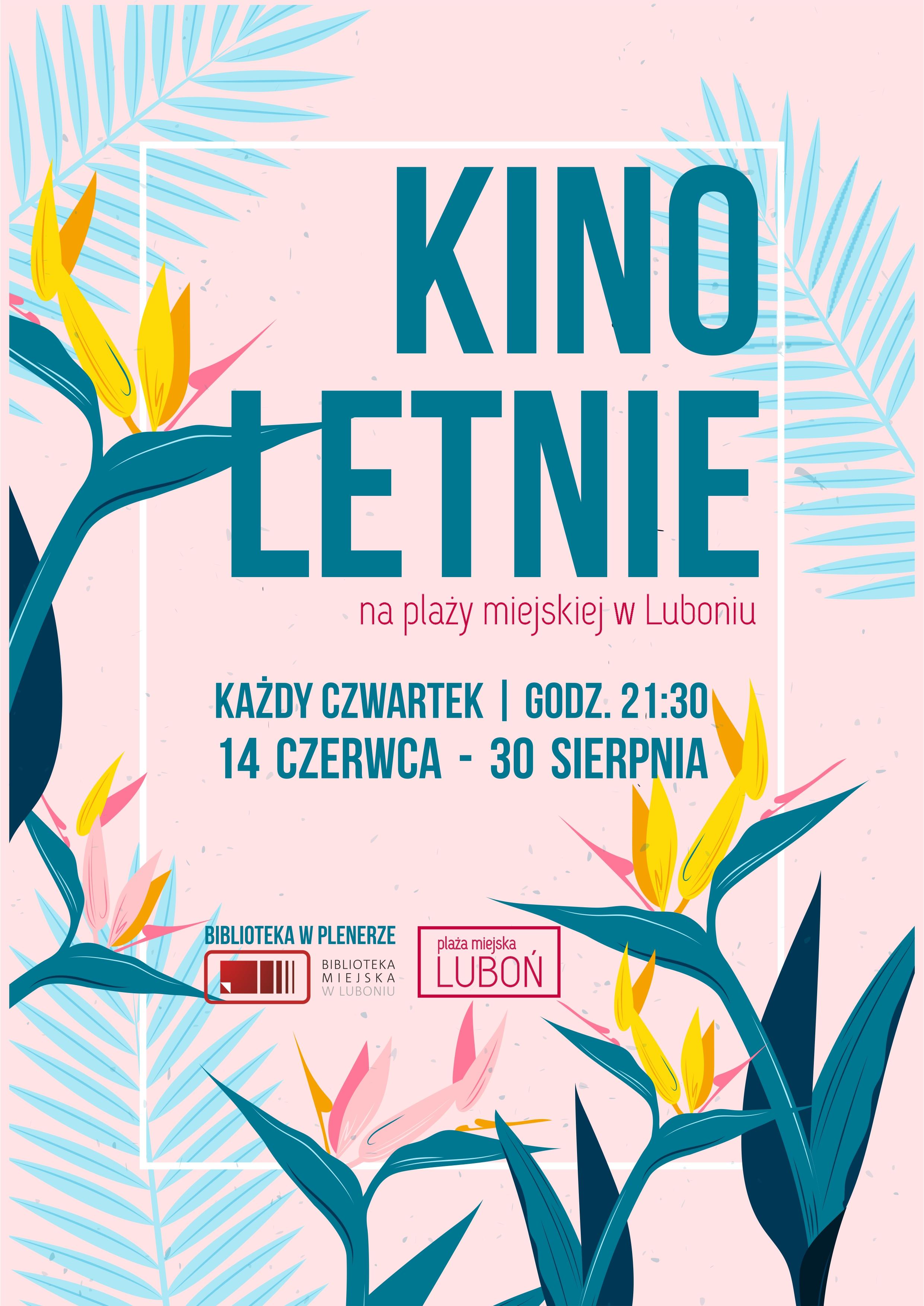 Kino letnie w Luboniu