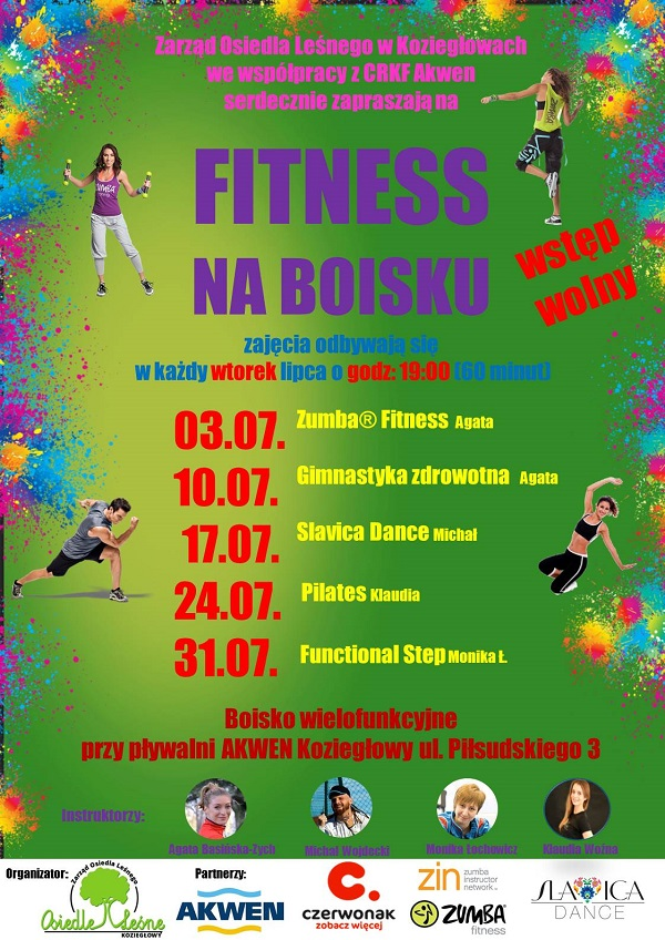 Fitness w Koziegłowach