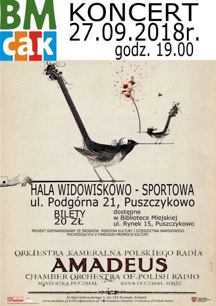 Koncert w Puszczykowie