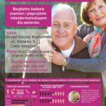 bezplatne badania dla seniorów w Komornikach