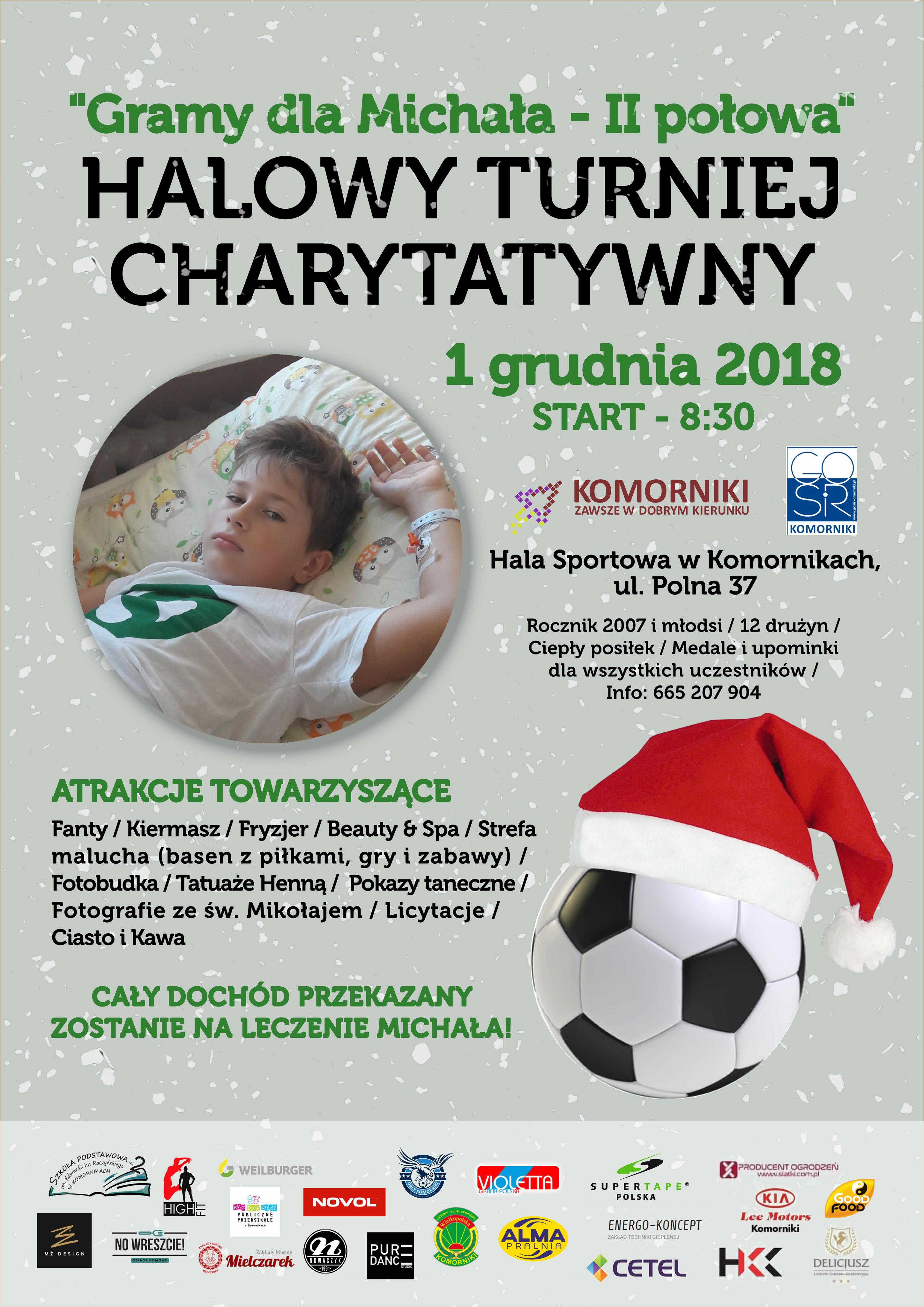 Turniej Charytatywny Powiat Poznański