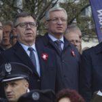 Obchody swięta Niepodlegości na Placu Wolności w Poznaniu