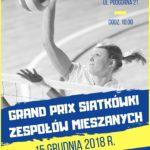 grand Prix w siatkówce w Puszczykowie