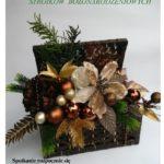 zaproszenie na wspólne robienie stroików bożonarodzeniowych w Wirach