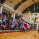 Uczestnicy meczu koszykarskiego z udziałem UKS Lider Swarzędz