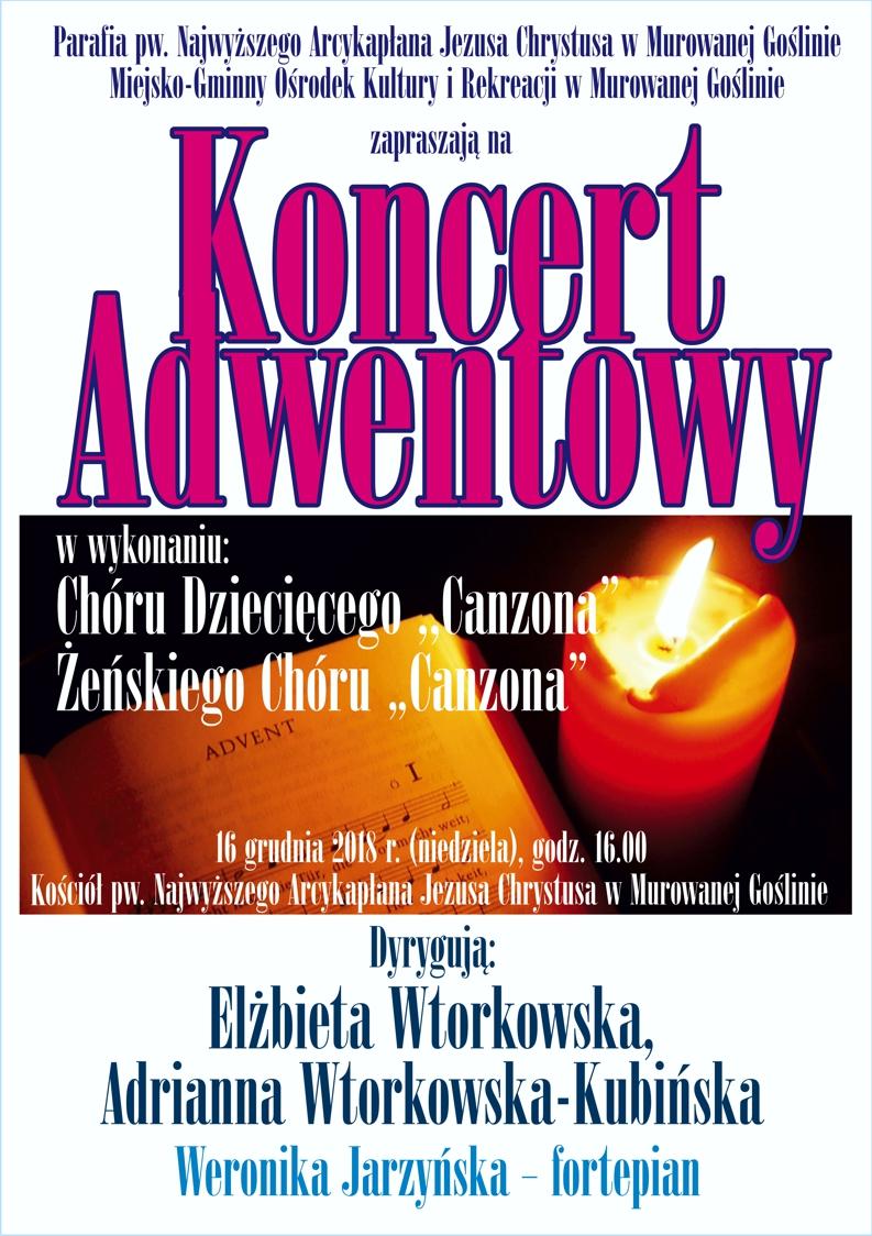 Koncert Adwentowy