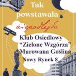 Plakat na wystawę powstańczą 0d 10 grudnia 2018 do 31 stycznia 2019 w Murowanej Goślinie