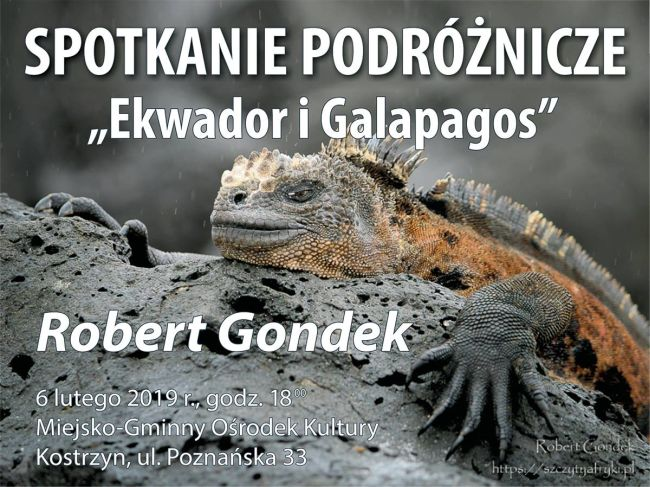 Ekwador i Galapagos