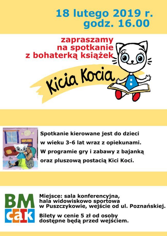 Kicia Kocia zaprasza