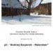 plakat wystawy pt.: Andrzej Kacperek - Malarstwo