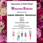 plakat wiosenna kobieta 8 marca 2019 godzina 18:00