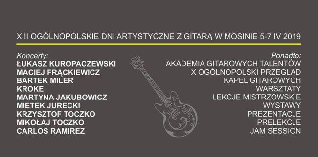 Dni Artystyczne z Gitarą