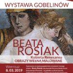 plakat wystawa gobelinów Beata Rosiak