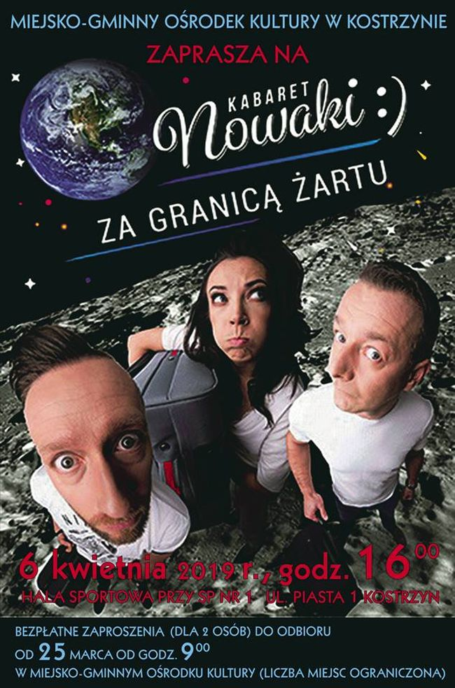 Kabaret Nowaki w Kostrzynie