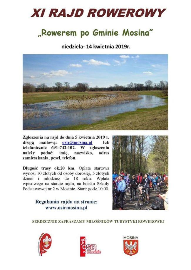Rowerem po gminie Mosina