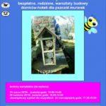 Plakat na warsztaty pszczelarskie w Plewiskach na 22 i 23 marca i 6 kwietnia 2019