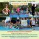 Plakat czwartków lekkoatletycznych w Puszczykowie od 17 kwietnia do 29 maja