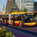 Wizualizacja Solaris Urbino 18 CNG w barwach warszawskich. Materiały prasowe Solaris Bus & Coach S.A.