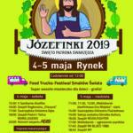 Plakat Józefinek 2019 Święto Patrona Swarzędza, 4-5 maja 2019, Rynek, Swarzędz