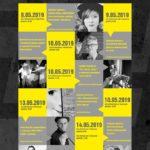 Plakat Hasztag Biblioteka, XVI Ogólnopolski Tydzień Bibliotek 8-15 maja 2019