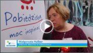 Kadr z 10 odcinka Powiatowej17, Małgorzata Halber- Dyrektor Biblioteki w Pobiedziskach