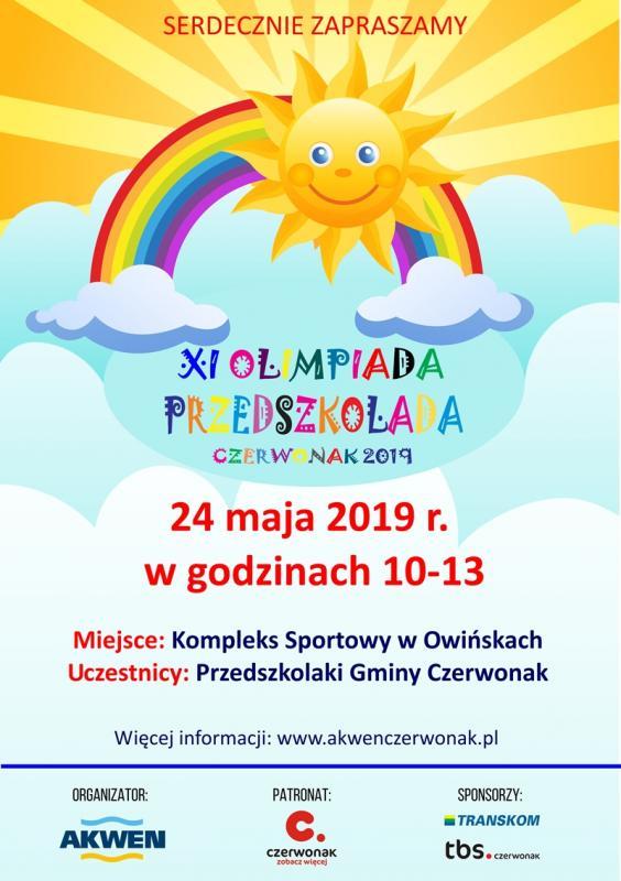 XI Olimpiada Przedszkolada