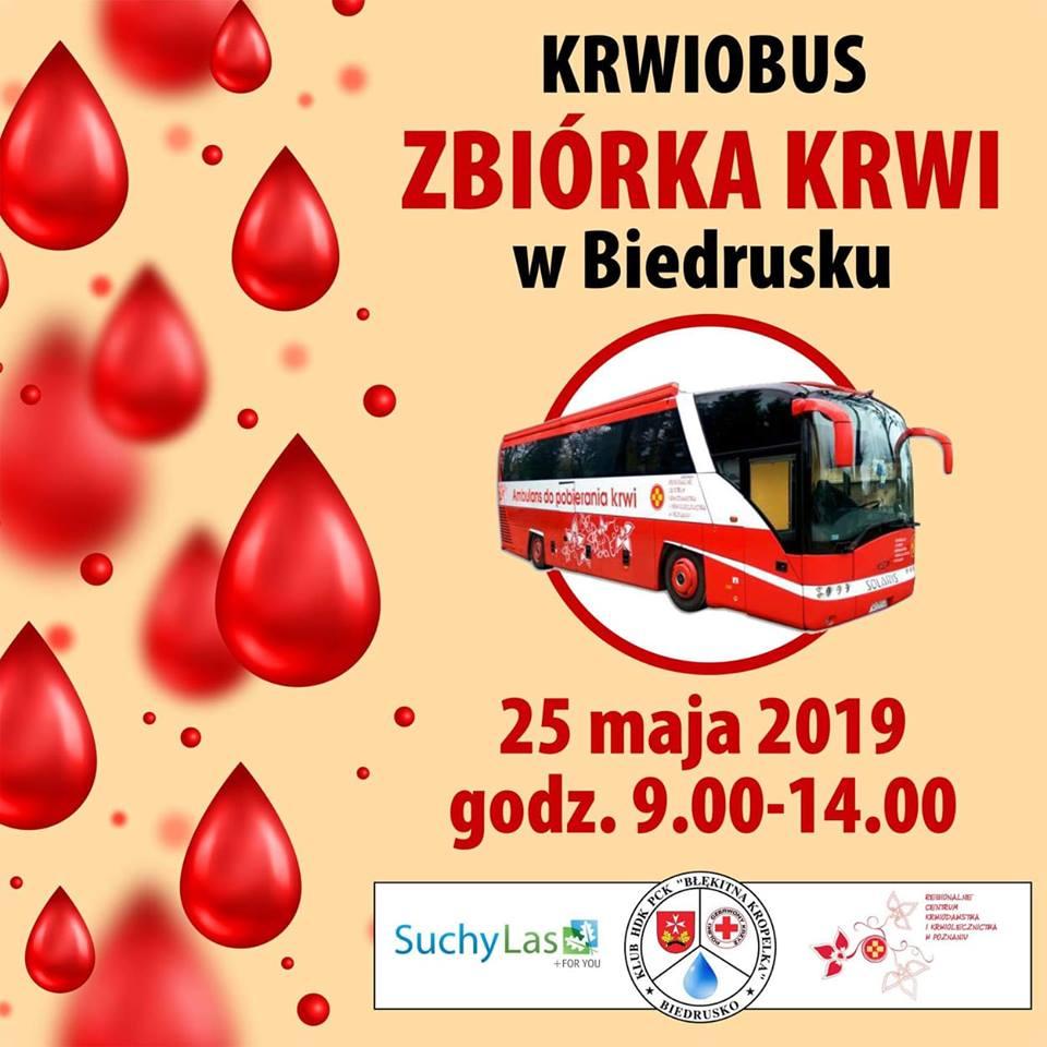 Zbiórka krwi w Biedrusku