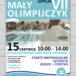 Plakat Zawody Pływackie Mały Olimpijczyk edycja VII, 15 czerwca 2019r, godz. 10:00-14:00 Kórnickie Centrum Rekreacji i Sportu Oaza