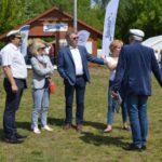 Oficjalne otwarcie sezonu wodnego na Akwenie Marina w Czerwonaku, Starosta Poznański Jan Grabkowski