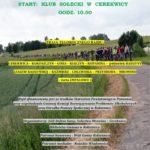 """Plakat I Integracyjny Rajd Rowerowy """"Łączy na rower"""", 09 czerwca 2019, godz. 10:00, Start: Klub Sołecki w Cerekwicy"""