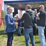 Oficjalne otwarcie sezonu wodnego na Akwenie Marina w Czerwonaku, Strarosta Poznański Jan Grabkowski