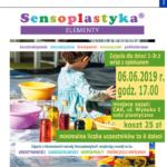 Plakat Biblioteka Miejska im. M. Musierowicz zaprasza na Sensoplastyka - elementy, 06.06.2019, godz. 17:00, koszt 25 zł