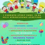 Plakat Dzień Dziecka z Domem Kultury, 1 czerwca 2019, godz. 10:00, Hala widowiskowo-sportowa w Dopiewie