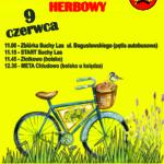 Plakat XX Rajd Rowerowy Herbowy, 9 czerwca 2019, Suchy Las