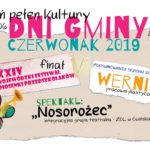 Plakat Dni Gminy Czerwonak 2019, 3-9 czerwca 2019