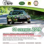 Plakat III Wielkopolskie Rajd Historyczny, I Wielkopolski Rajd Nowych Energii, 1 czerwca 2019