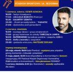 Plakat XXVI Dni Gminy Komorniki 2019, Stadion Sportowy, 28.05-01.06.2019r