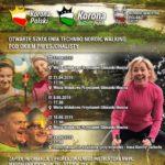 Plakat Puszczykowo Otwarte szkolenia techniki nordic walking pod okiem profesjonalisty, 8.04, 8.05, 15.05, 24.05 2019