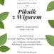 """Plakat Piknik z Wigorem, 15.06.2019, Dzienny Dom """"Senior-Wigor"""" w Luboniu"""